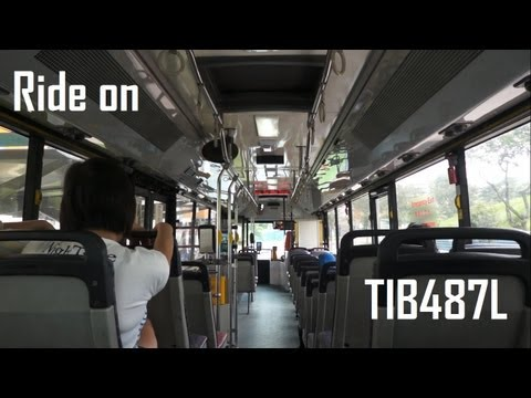 SMRT Mercedes-Benz O405 Mark 2 [Hispano - OAC - Refurbished] (TIB487L on 911)