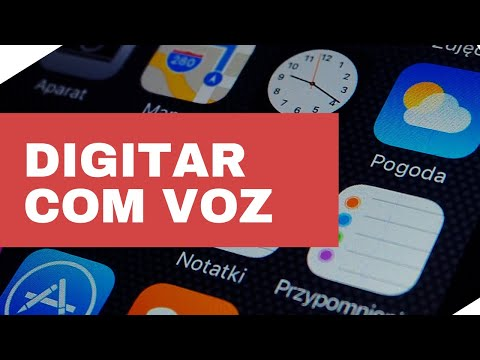 iPhone - Digitar com voz no Twitter, Facebook,Notas,Whatsapp etc