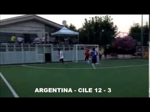 SINTESI OTTAVO COPPA AMERICA ARGENTINA - CILE