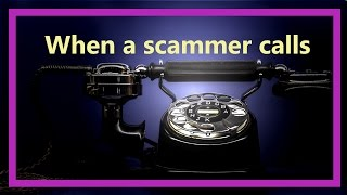 When a Scammer Calls | BandannaK gets a call from the federal grants department