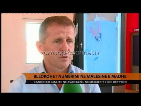Bllokohet numërimi në Malësinë e Madhe - Top Channel Albania - News - Lajme