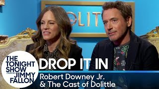 Jimmy Has Robert Downey Jr. and the Dolittle Cast Secretly Slip Funny Words into Interviews