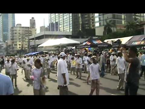 MARCHING BAND. PANAMANIANS IN THE USA. 3 NOVIEMBRE 08. PARTE1