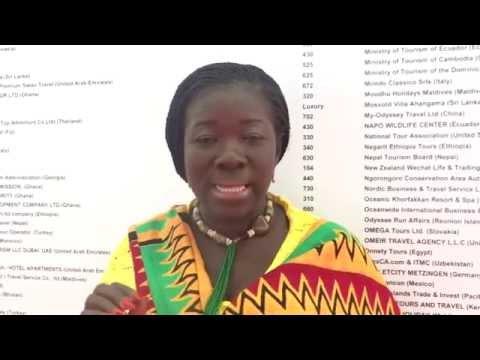 Ghana Tourism @ COTTM 2015