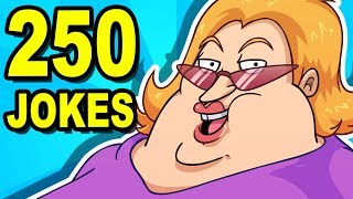250 JOKES - Can You Watch Them All?