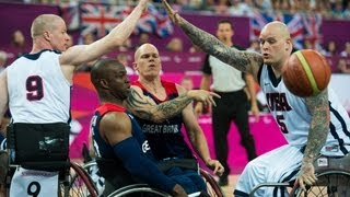Wheelchair basketball highlights - London 2012 Paralympic Games