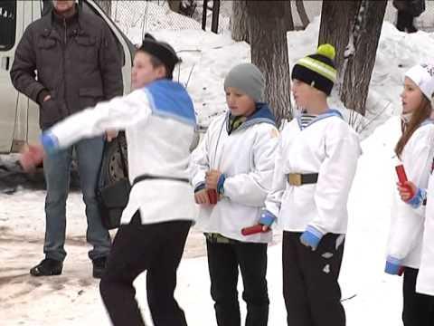 Военно спортивная игра Зарница Самара 2014