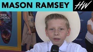 Mason Ramsey, Yodeling Kid, Feels Like Justin Bieber! | Hollywire