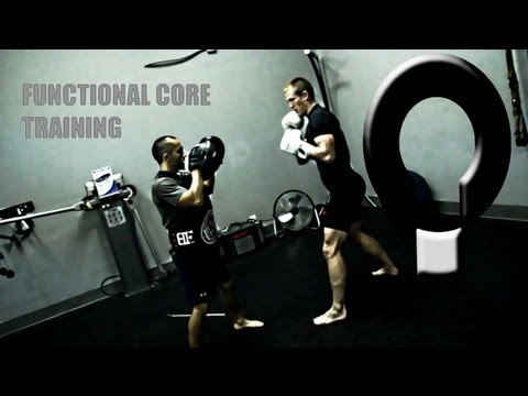 Functional Core Training with MMA fighter Bryce Shepard Mejia