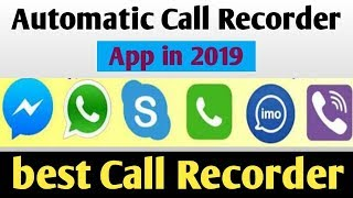 Best Call Recorder App for Android phone 2019// Call Recording App 2019