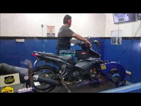 Yamaha Y15ZR aRacer RC M4 ECU Dyno Tuning - Motodynamics Technology Malaysia