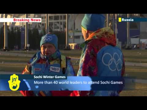 Sochi 2014 Winter Olympics: Final preparations underway ahead of opening ceremony in Russia