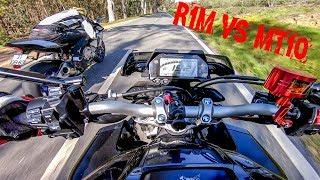 Yamaha R1M vs MT10 - The Maniacs - Bonus Race At The End