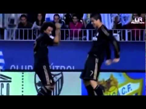 Cristiano Ronaldo y Marcelo Bailando
