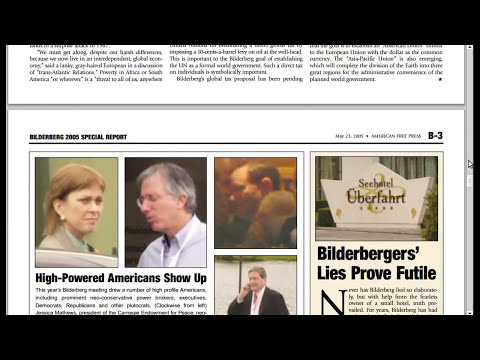 Club Bilderberg: 10 documentos originales expuestos
