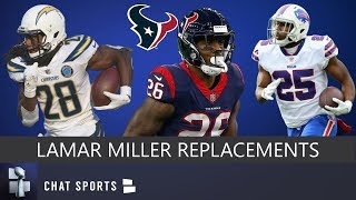 Lamar Miller Replacements: 5 RBs The Houston Texans Could Sign Or Trade For Before 2019 NFL Season