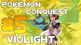 Pokémon Conquest: Guia - Cap. 5 Violight