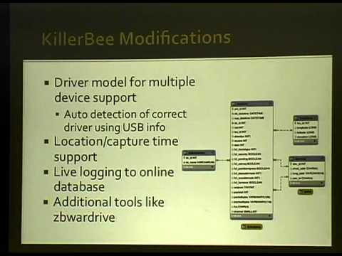ShmooCon 2011: ZigBee Security: Find, Fix, Finish
