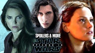 Star Wars Episode 9 Spoilers Revealed! Kylo, Mara  Rey WARNING