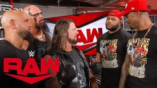 The O.C. pulverize The Street Profits: Raw, Oct. 14, 2019