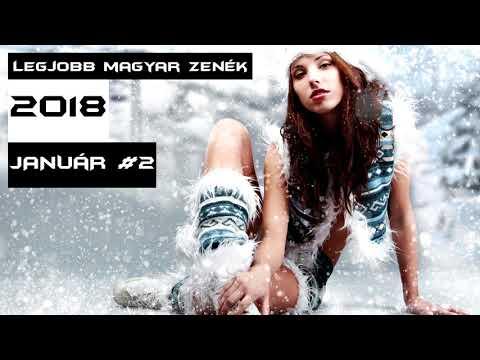 Legjobb Magyar Zenék 2018 Január #2 - Best Hungarian Dance Music Mix 2018