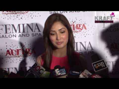 YAMI GAUTAM LAUNCHES FEMINA SALON & SPA MAGAZINE