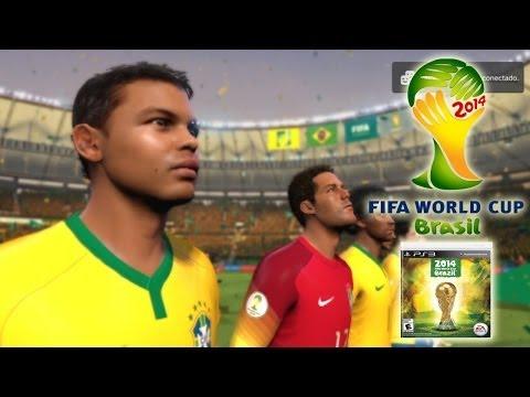 FIFA 2014 World Cup Brazil DEMO Mi Primer Gameplay (Brazil vs England)