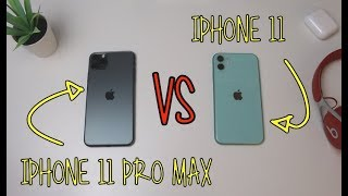 iPhone 11 Pro Max VS iPhone 11 | CONFRONTO COMPLETO