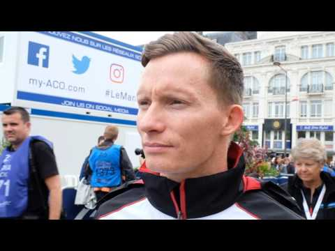 WEC - 2016 24 Hours of Le Mans Pesage - Interview with Mike Conway from Toyota Racing #6