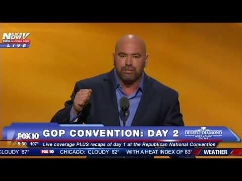 Dana White Delivers Passionate Speech At RNC For Donald Trump - FNN