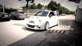 This is EPIC! Romeo Ferraris Cinquone Abarth GUMBALL 3000 Edition 2013