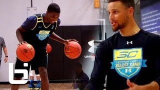 Jalek Felton Has NBA Bloodlines & Learns From Steph Curry On His Road to UA Elite 24!