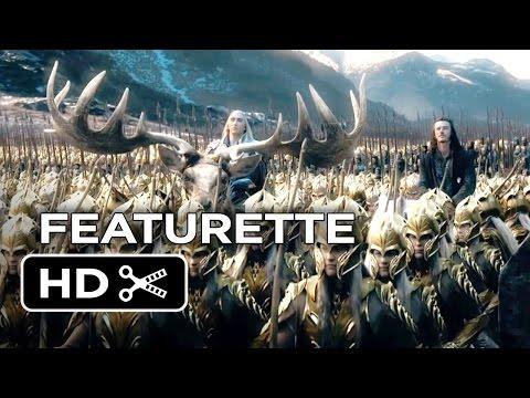 The Hobbit: The Battle Of The Five Armies Featurette - IMAX (2014) - Peter Jackson Movie HD