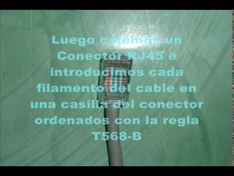 Tutorial: Como Hacer Un Cable de Red (Router-PC / PC-PC)