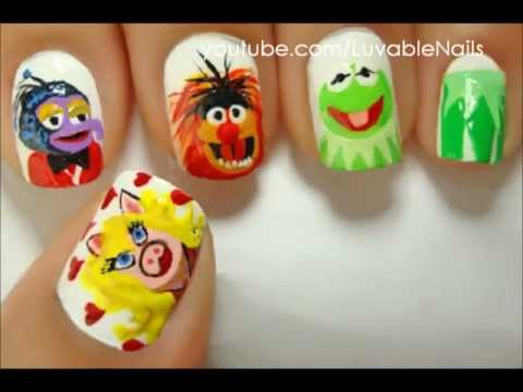 The Puppet Muppet Nail Art