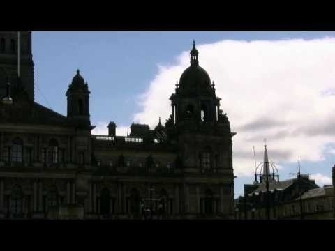 In and around George Square Glasgow