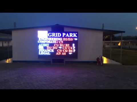 Gridco electricity and power generation  update in ghana Outdoor  advertising electronics led light