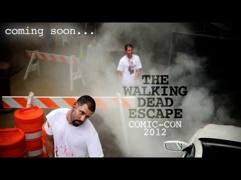 YH Versus THE WALKING DEAD Zombies! -- Comic Con 2012