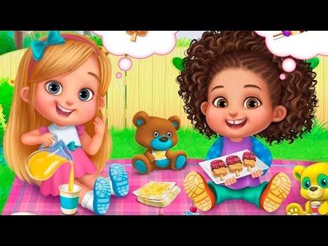 СУПЕРняня ИГРАЙ и ВЕСЕЛИСЬ с озорными малышами Веселье в ванной и пикник с мишками Babysitter Mania
