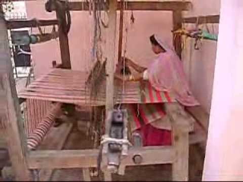 Recycling of clothes and woolen by handloom weaving