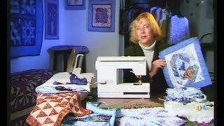 "Quilting. Sew panels patchwork technique ""crazy"""