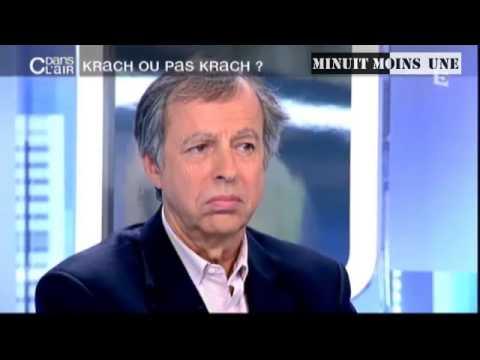 Krach dette  économie immobilier  ... l or  Bernard Maris  Nicolas et Bouzou