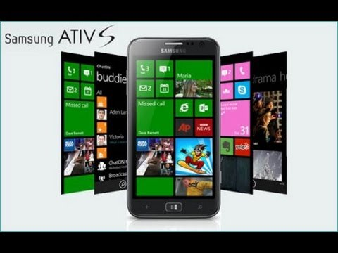 Tedy006 - Unboxing - Samsung Ativ S com Windows Phone 8