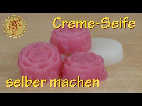 Creme-Seife selber machen - ganz einfach mit Glycerinseife