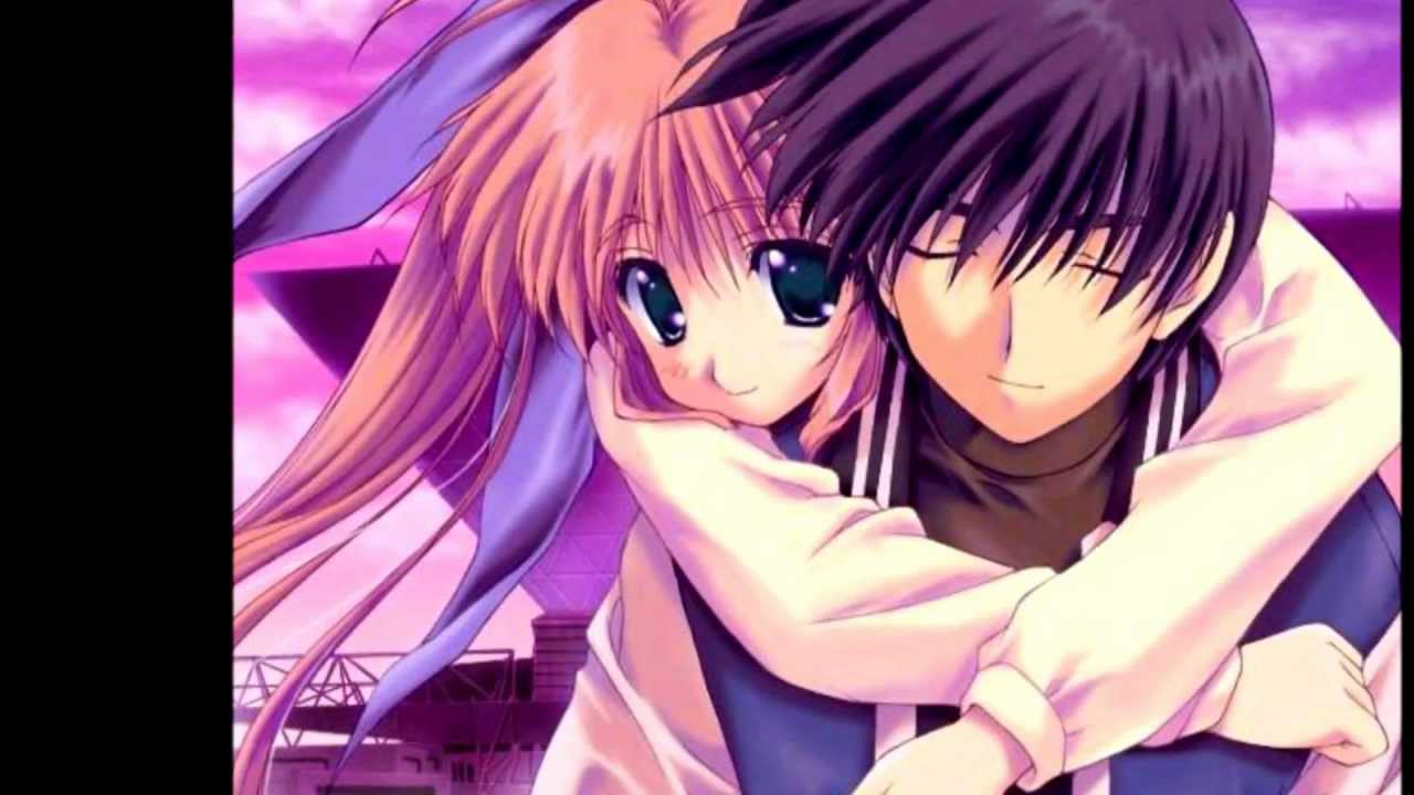 Animation Movie Love Wallpaper : ~Romantic Anime Lovers~ - YouTube