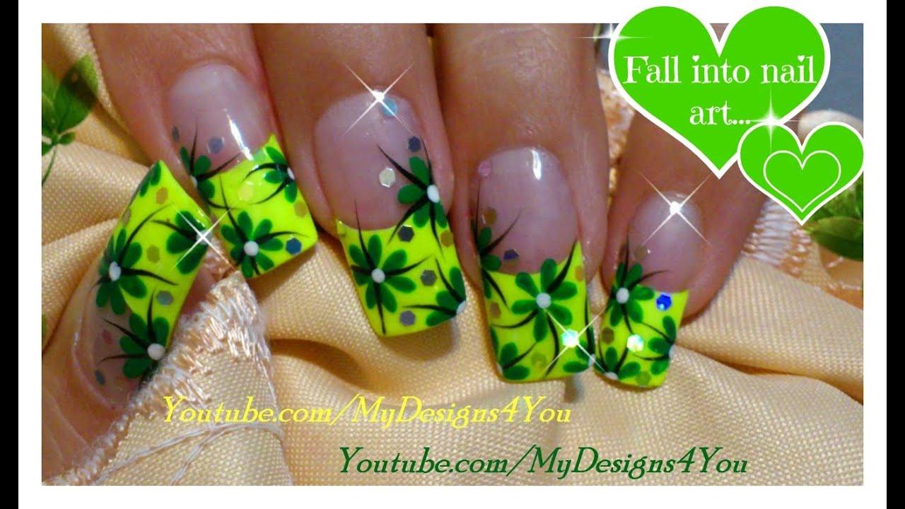 Frog Nail Art Design