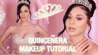 QUINCEAÑERA MAKEUP TUTORIAL