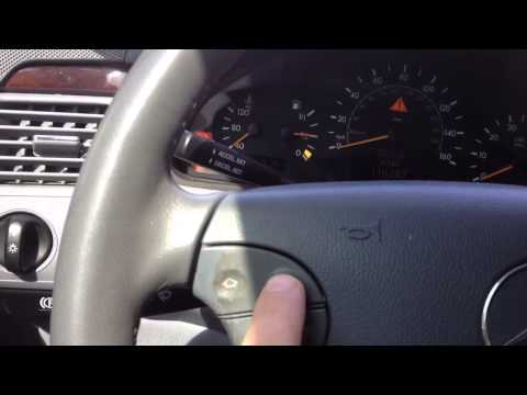 HOW TO RESET OIL SERVICE LIGHT MERCEDES BENZ E320 ( 2000 )