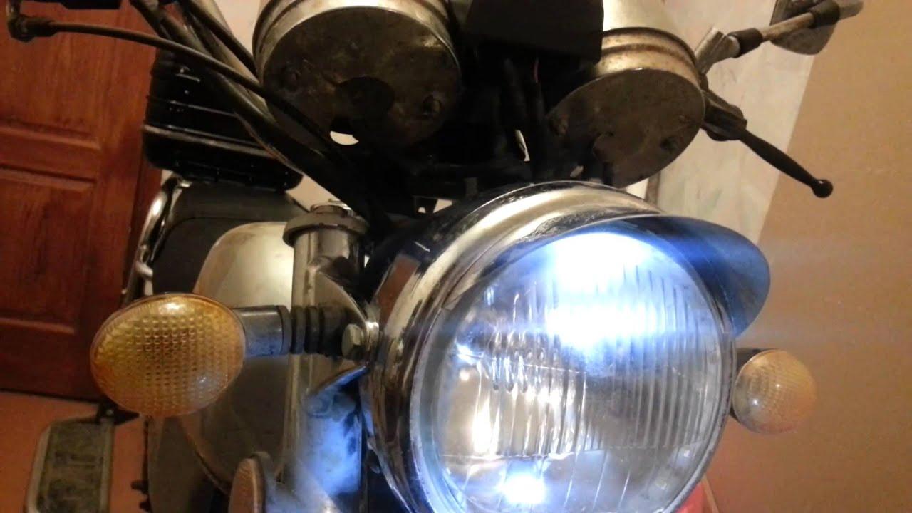Замена штатного света на скутере DRIVE 2 7