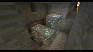 minecraft but i'm addicted to mining diamonds...